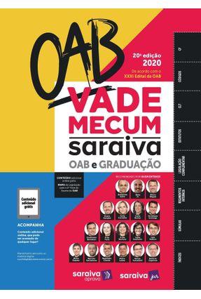 Vade Mecum Saraiva OAB - 20ª Ed. 2020