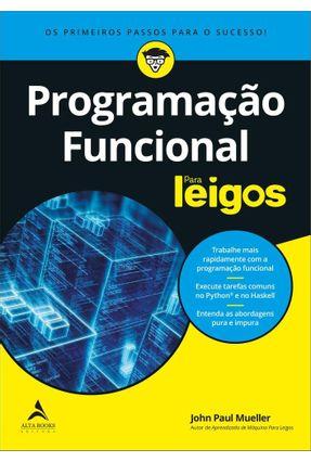 Programação Funcional Para Leigos - Mueller,John Paul pdf epub
