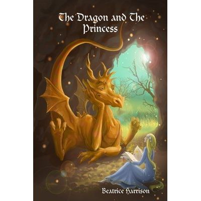 The Dragon And The Princess Coloring Book - For Kids Ages 4 Years Old And Up