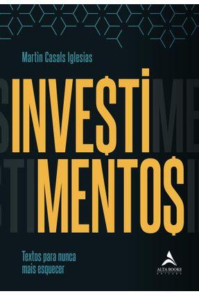 Investimentos - Iglesias,Martin Casals pdf epub