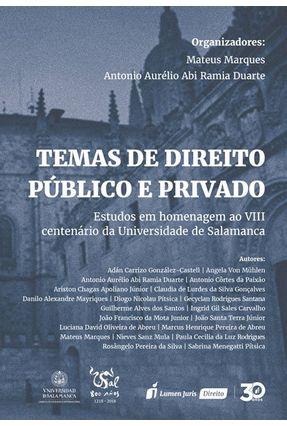 Temas De Direito Público E Privado -  pdf epub