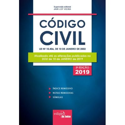 Código Civil 2019 – Mini