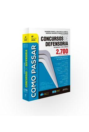 COMO PASSAR CONCURSOS DE DEFENSORIA -  pdf epub
