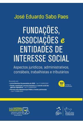 Fundações, Associações E Entidades De Interesse Social - Paes,José Eduardo Sabo pdf epub