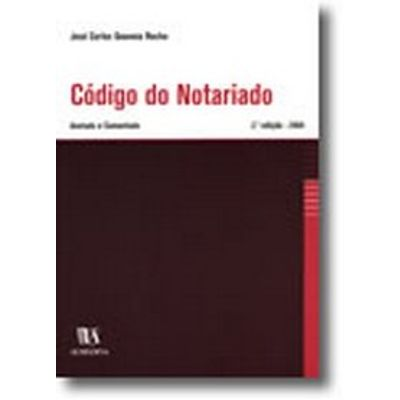 Código do Notariado - Anotado e Comentado
