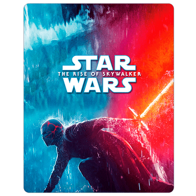 Star Wars - A Ascensão Skywalker - 2 Discos - Blu-Ray Steelbook