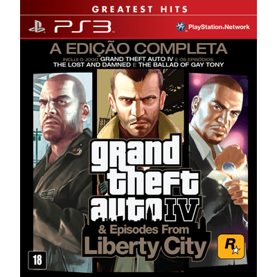 Grand Theft Auto IV & Episodes From Liberty City - The Complete Edition - PS3