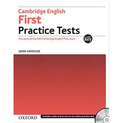 Cambridge English First Practice Tests With Key And Audio CD
