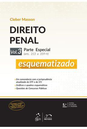 Usado - Direito Penal Esquematizado - Parte Especial - Vol. 3 - 5ª Ed. 2015 - Masson,Cleber pdf epub