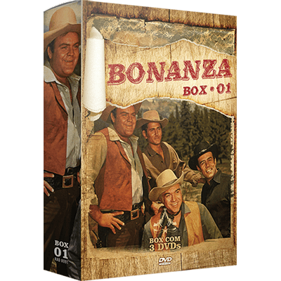 Bonanza - Box 1 - 3 DVDs