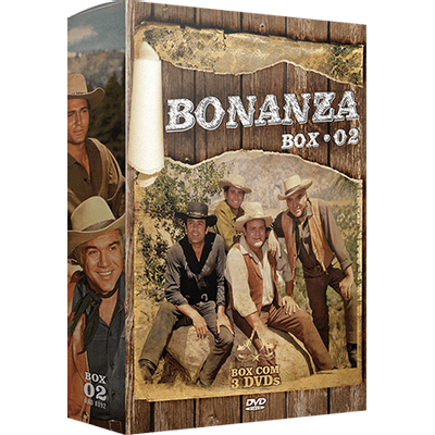 Bonanza - Box 2 - 3 DVDs