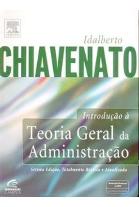 Introducao A Teoria Geral Da Administracao 7ª Ed 2004 Saraiva