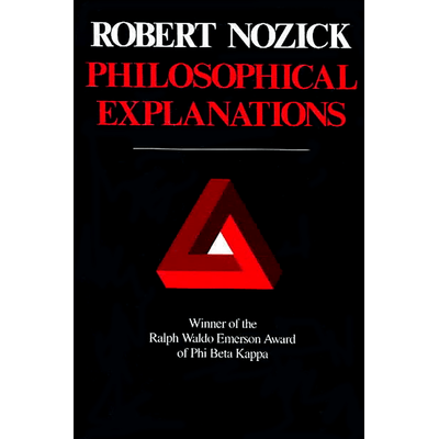 Belknap Press - Philosophical Explanations - ,
