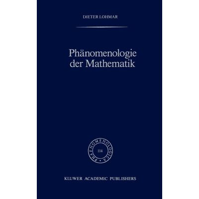 Phanomenologie Der Mathematik