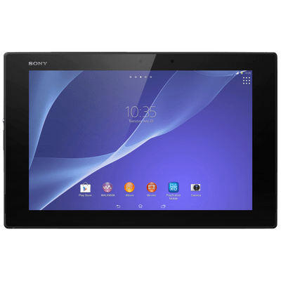 "Tablet Sony Xperia Z2 Sgp551 Preto 10.1"" Wi-Fi + 4G, TV Digital, Android 4.4, 16Gb, Quad Core 2.3Ghz"