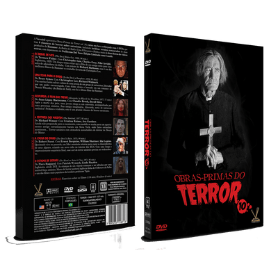 Obras-Primas do Terror Vol. 10  - 3 Discos - DVD
