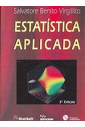 Estatística Aplicada - 3ª Ed - Virgillito,Salvatore Benito | Hoshan.org