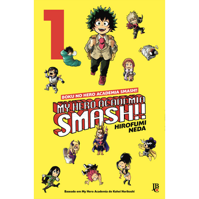 My Hero Academia Smash!! - Boku No Hero - Vol.1