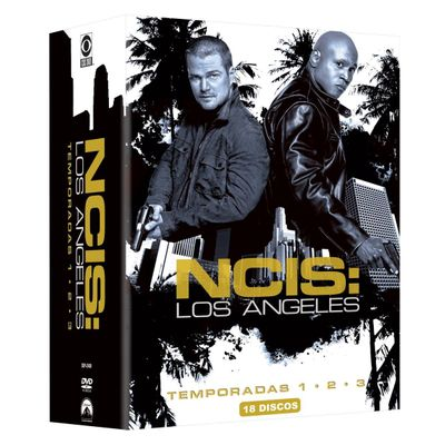 DVD Box NCIS - Los Angeles - 1ª, 2ª e 3ª Temporada - 18 Discos