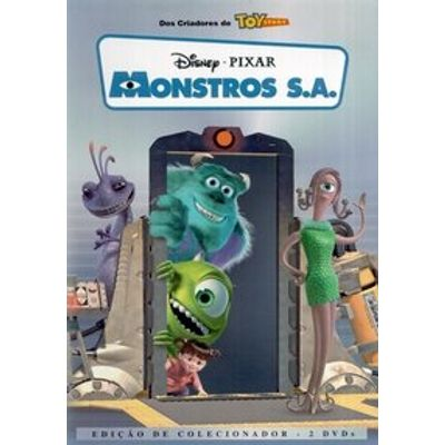 Monstros  S. A. - 2 DVDs - DVD4 + Miniatura