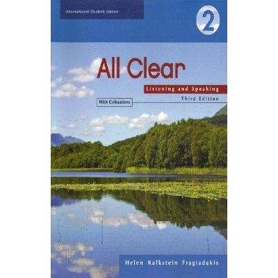All Clear: Listening And Speaking Level 2 - Student Book