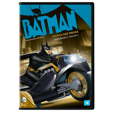 A Sombra do Batman - Justiça Das Trevas - 1ª Temporada Vol. 3 - DVD