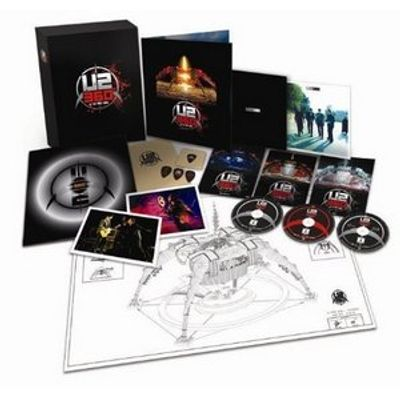 U2 360º At the Rose Bowl - Super Deluxe Edition - 2 DVDs + Blu-ray + Vinil + Livro