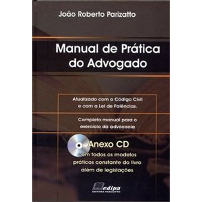 Manual Prático do Advogado - Anexo CD