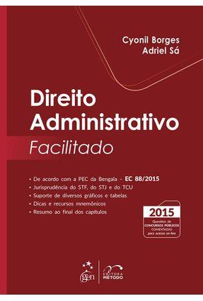 Usado - Direito Administrativo Facilitado - Borges,Cyonil Sá,Adriel pdf epub