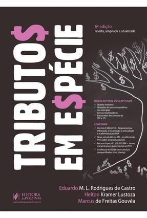 Tributos Em Espécie Para Concursos - Gouvêa,Marcus de Freitas Lustoza,Helton Kramer Castro,Eduardo M. L. Rodrigues De | Hoshan.org