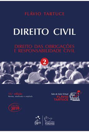 Usado - Direito Civil - Direito Das Obrigações E Responsabilidade Civil -  Vol. 2 - Tartuce,Flávio | Tagrny.org