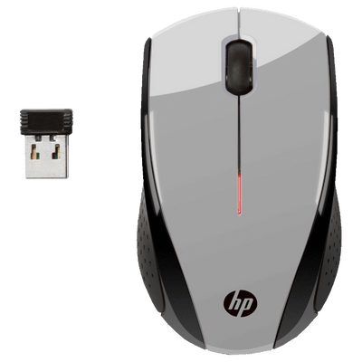 Mouse Sem Fio HP X3000 Cinza