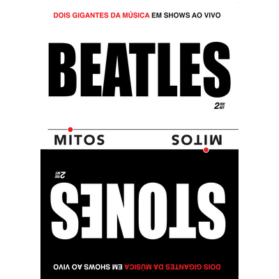 Beatles & Rolling Stones - Série Mitos - 2 DVDs