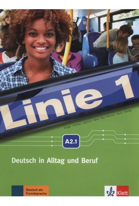 LINIE 1, KURS- UND ÜBUNGSBUCH + MP3 + VIDEOCLIPS-A2.1 - Stefanie Dengler Ludwig Hoffmann Kaufmann,Susan | Nisrs.org