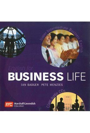 English For Business Life - Upper-intermediate - Audio CD - Badger,Ian Menzies,Pete   Hoshan.org