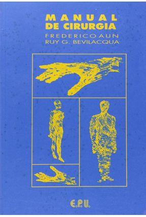 Usado - Manual de Cirurgia - Bevilacqua,Ruy G.   Hoshan.org
