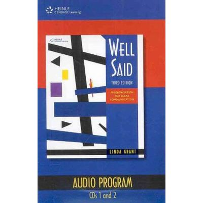 Well Said: Pronunciation For Clear Communication - Audio Cd's (4)