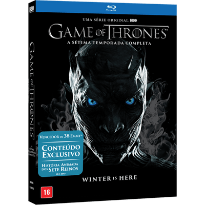Blu-Ray Game Of Thrones - 7ª Temporada - 5 Discos