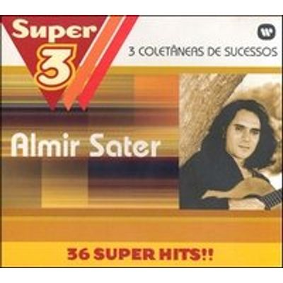 Super 3 - Almir Sater - 3 CDs