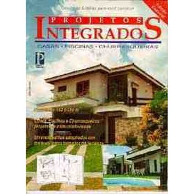 Projetos Integrados-casa-piscinas-churrasquei