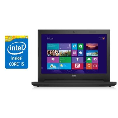 "Notebook Dell Inspiron I14-3443-B40t Preto Processador Intel® Core™ i5-5200U, 8Gb, HD 1Tb, 14"" W8.1"