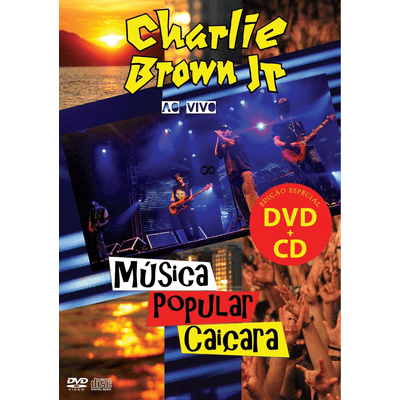 Música Popular Caiçara - ao Vivo - DVD + CD