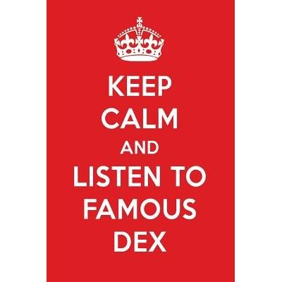 Keep Calm And Listen To Famous Dex - Famous Dex Designer Notebook