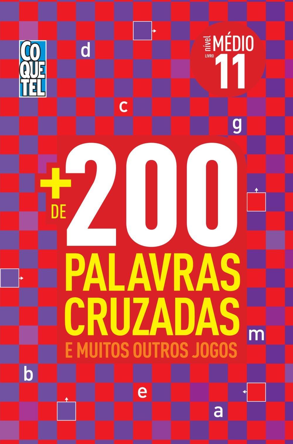 Coquetel De 200 Palavras Cruzadas E Muitos Outros Jogos Livro