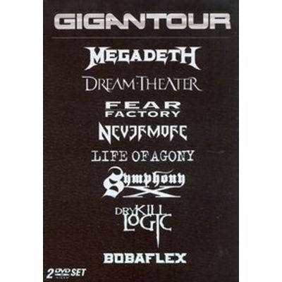 Megadeth , Dream Theater , Fear Factory , Nevermore , Symphony-x - 2 DVDs