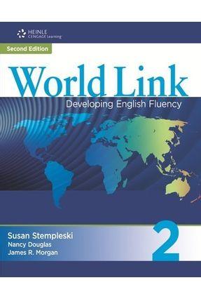 World Link 2nd Edition Book 2 - Classroom Audio CDs - Stempleski,Susan Douglas,Nancy Morgan,James R. | Hoshan.org