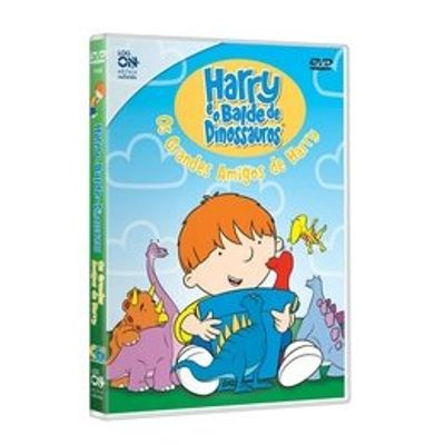 Harry e o Balde de Dinossauros - Os Grandes Amigos de Harry - Mini DVD - Exclusivo