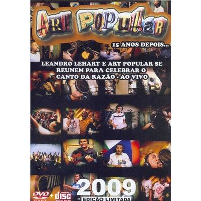 Art Popular - Ao Vivo - DVD + CD