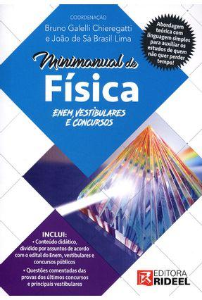 Minimanual de Física - Enem, Vestibulares e Concursos - Santos,Caio Cesar Pereira Ribeiro Filho,José Gomes | Hoshan.org