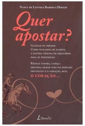 Quer Apostar? - Hirsch,Nancy de Lustoza Barros e   Tagrny.org